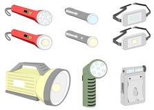 Различный вид проблесковых светов Стоковые Фотографии RF