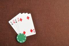 Различный костюм карточек 4 Стоковое Изображение
