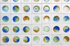 Различный предпосылки стекла мраморов Стоковая Фотография RF
