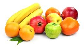 различный плодоовощ fruits комплект померанца лимона кивиа грейпфрута Стоковое Фото