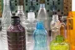 Различный тип образец пластичной бутылки Стоковые Изображения RF