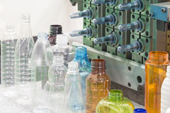 Различный тип образец пластичной бутылки Стоковое Изображение RF