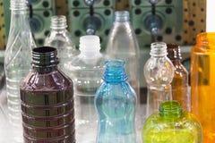 Различный тип образец пластичной бутылки Стоковое Изображение