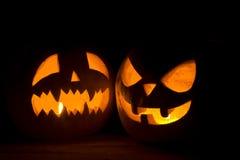 2 различный хеллоуин Стоковые Фото