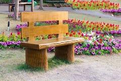 Различный цветок на саде лобковом Стоковое Изображение RF