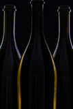 3 различных бутылки вина Стоковое Изображение