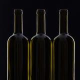 3 различных бутылки вина Стоковые Фото
