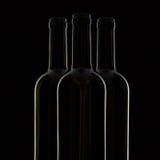 3 различных бутылки вина Стоковое Фото