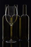 3 различных бутылки вина Стоковое Изображение RF