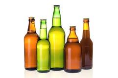 Различные бутылки пива   Стоковые Фото