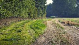 2 различных дороги Стоковая Фотография RF