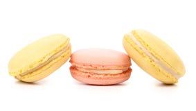 3 различных торта macaron. Стоковое Изображение RF