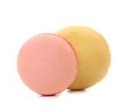 2 различных macarons. Стоковое Изображение
