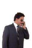 Раздражанный бизнесмен Стоковое фото RF