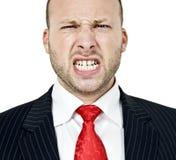 раздражанный человек Стоковая Фотография