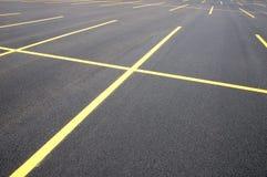 раздробите стоянку автомобилей на участки Стоковая Фотография RF