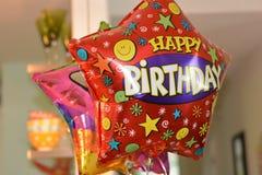 раздувает день рождения счастливый Стоковые Изображения