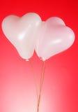 раздувает сформированное сердце Стоковая Фотография RF