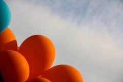 раздувает цветастое Стоковое фото RF