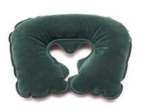 Раздувная изолированная подушка шеи Стоковые Фото