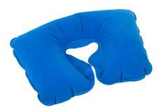 Раздувная подушка шеи Стоковое фото RF