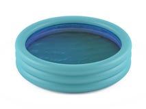 Раздувной бассейн стоковое изображение rf