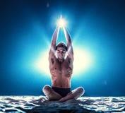 Раздумье йоги Стоковое Изображение