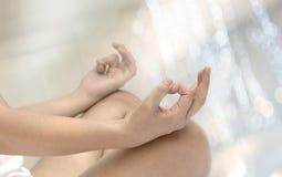 Раздумье йоги Стоковое Фото