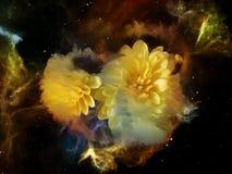 Раздумья на мечт космосе Стоковое Фото