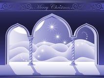 раи двери рождества Стоковое Изображение RF