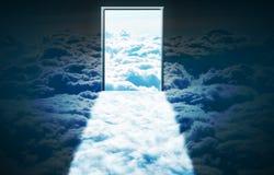 раи двери Стоковая Фотография RF
