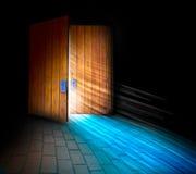 раи дверей Стоковая Фотография RF