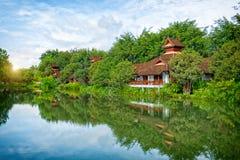 Район дома воды, славных и удобных, Стоковое Изображение RF