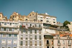 Район Лиссабона Стоковое фото RF