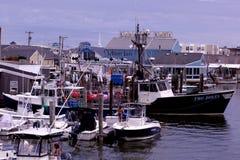 Район Марины в городе Ilse моря, Нью-Джерси стоковое фото rf