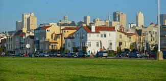 Район Марины ` s Сан-Франциско исторический Стоковые Фотографии RF