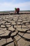 район неорошаемого земледелия Стоковое фото RF