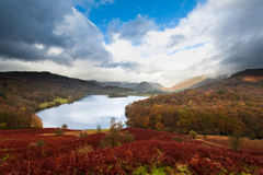 Район озера Windermere, озера, Cumbria, Англия Стоковое Изображение
