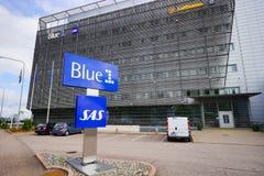 Район около авиапорта Хельсинки Стоковое Изображение RF