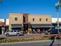 Район покупок El Paseo Стоковая Фотография