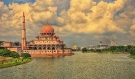 Район Путраджайя, Куала-Лумпур, Малайзия стоковые фото