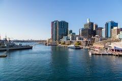 Район района гавани милочки в Сиднее Стоковая Фотография RF