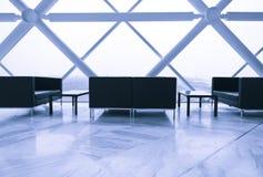 Район салона самомоднейшего здания Стоковые Изображения