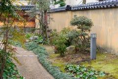 Район самураев Nagamachi в Kanazawa, Японии Стоковое Фото