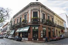 Район Сан Telmo, Буэнос-Айрес, Аргентина стоковые изображения rf