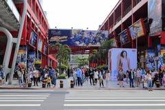 Район Тайбэя 101 ходя по магазинам Стоковая Фотография