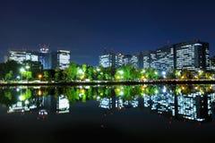 Район токио финансовый стоковое фото rf