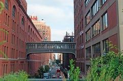 Район увиденный от высокой ветки, Нью-Йорк Челси Стоковые Изображения