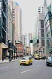 Район центра города Бостона Стоковые Фотографии RF