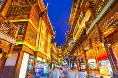 Район Шанхая традиционный Стоковое Изображение
